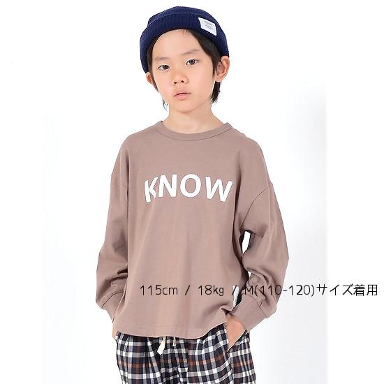 generator(ジェネレーター)KNOW L/S Tシャツ(90cm-160cm)